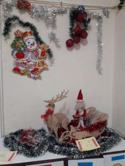 Коледна украса - ДГ Каменица - Пловдив