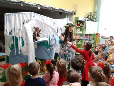 Коледно тържество  в детската градина - ДГ Каменица - Пловдив