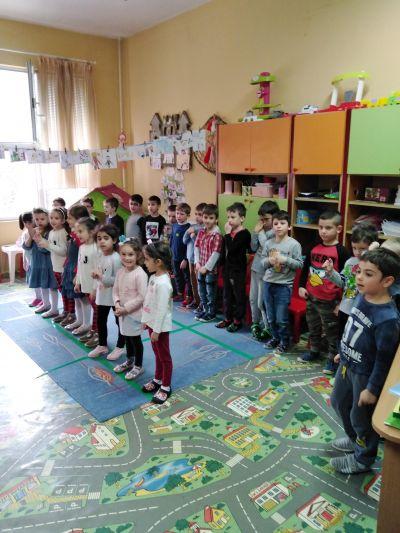 Трета -А ПГ-Изработване на мартенички с родители - ДГ Каменица - Пловдив